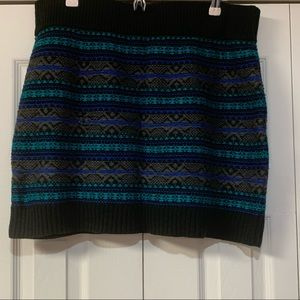 Plus size sweater knit skirt xxl
